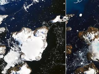 Φωτογραφία για Το «τραγούδι» του πάγου: Ο ήχος που κατέγραψαν οι επιστήμονες στην Ανταρκτική Έλιωσε το 20% του χιονιού σε νησί της Ανταρκτικής λόγω κύματος καύσωνα
