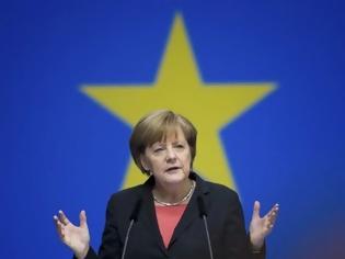 Φωτογραφία για Μέρκελ: Η Ελλάδα θα παραμείνει στο ευρώ