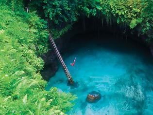 Φωτογραφία για Ο υπέρτατος καλοκαιρινός προορισμός: To Sua Ocean Trench στη Samoa (Photos)