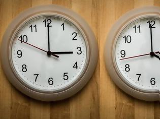 Φωτογραφία για Αλλαγή ώρας 2020: Πλησιάζει η θερινή ώρα – Πότε θα πάμε τα ρολόγια μία ώρα μπροστά