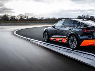 Φωτογραφία για Το ηλεκτρικό E-Tron S της Audi θα κάνει drift