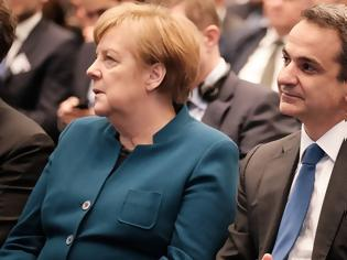 Φωτογραφία για Οι τρεις όροι που συμφώνησαν Μέρκελ και Μητσοτάκης να επιβάλει η ΕΕ στον Ερντογάν