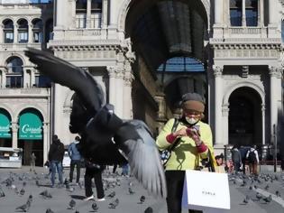 Φωτογραφία για Ιταλία: Η ατμοσφαιρική ρύπανση μειώθηκε δραστικά πάνω από τη χώρα