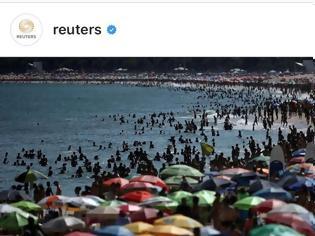 Φωτογραφία για Κορωνοϊός:Βραζιλία - Δεν πέφτει καρφίτσα στις παραλίες