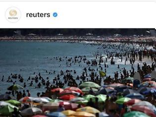 Φωτογραφία για Κορωνοϊός: Απίστευτες εικόνες στη Βραζιλία - Δεν πέφτει καρφίτσα στις παραλίες