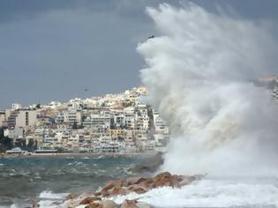 Φωτογραφία για Ισχυροί άνεμοι την Τετάρτη με 9 μποφόρ στο Αιγαίο - Πότε σταματούν οι ασθενείς βροχές