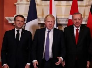 Φωτογραφία για Τετραμερή συνομιλία Τουρκίας, Γερμανίας, Βρετανίας και Γαλλίας