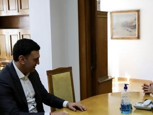 Φωτογραφία για Ενημερώθηκε από τον Υπουργό η Προέδρος της Δημοκρατίας