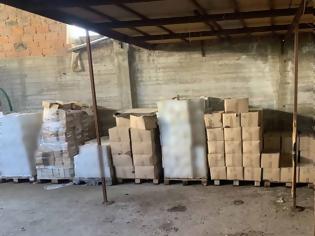 Φωτογραφία για Χειροπέδες για χιλιάδες λίτρα παράνομων φυτοφάρμακών από τη Βουλγαρία -Φωτος