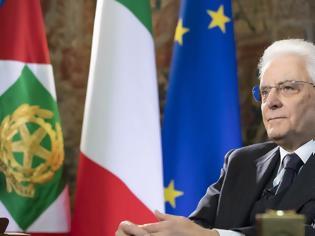 Φωτογραφία για Δραματικό μήνυμα του Ιταλού προέδρου