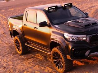 Φωτογραφία για Toyota Hilux Black Bison Edition