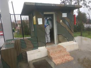 Φωτογραφία για Κώστας Κουκοδήμος   Προληπτικές Απολυμάνσεις  ...  Δήμος Κατερίνης: Απολύμανση στις εγκαταστάσεις της Προκεχωρημένης Αποθήκης Πυρομαχικών (Π.Α.Π.) στο Σβορώνο