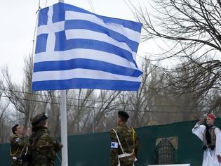 Φωτογραφία για Έπαρση Ελληνικής Σημαίας και Εθνικής Περηφάνιας στο ακριτικό Επιτηρητικό Φυλάκιο 1 (ΒΙΝΤΕΟ)