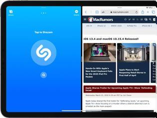 Φωτογραφία για Η Apple ενημέρωσε το Shazam με το Split View στο iPad