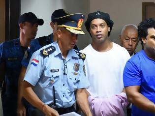 Φωτογραφία για Ροναλντίνιο: Απομονωμένος στη φυλακή λόγω κορωνοϊού