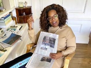 Φωτογραφία για Η Oprah Winfrey αποκάλυψε πώς ζει πια με τον σύντροφό της λόγω κορωνοϊού