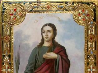 Φωτογραφία για Η Αγία Μάρτυς Στεφανίδα(Saint Corona στη Δύση)