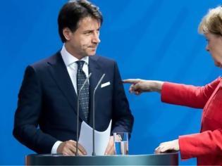 Φωτογραφία για Σύνοδος Κορυφής: Ο «καβγάς» Μέρκελ-Κόντε για το κορωνο-ομόλογο μέσα από τον ξένο Τύπο