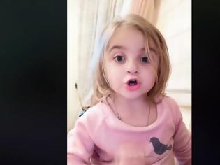 Φωτογραφία για Το viral βίντεο της μικρής Μαρίας στον Αναστασιάδη: «Νίκαρε, δεν θέλω άλλο... καραμπίνα, θέλω να δω τις ξαδέλφες μου!»