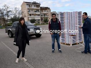 Φωτογραφία για Δωρεάν  ένα τόνο φράουλες και στο π. Δήμο Μεδεώνος με πρωτοβουλία της Περιφέρειας Δυτ. Ελλάδος