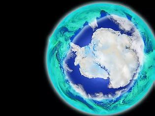 Φωτογραφία για Καλά νέα: Μειώνεται η τρύπα του όζοντος στην Ανταρκτική