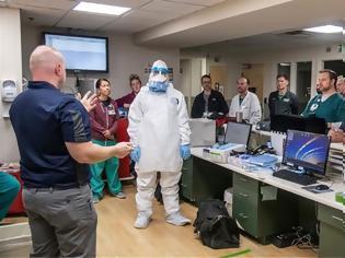 Φωτογραφία για ΗΠΑ: Εξαντλείται το στρατηγικό απόθεμα προστατευτικού εξοπλισμού για το νοσηλευτικό προσωπικό