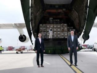 Φωτογραφία για Κικίλιας: Εξασφαλίσαμε άλλο ένα μεγάλο φορτίο υγειονομικού υλικού
