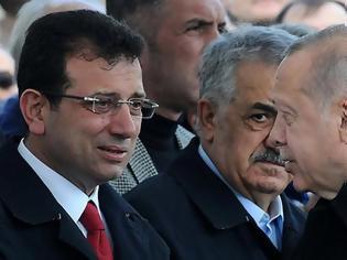 Φωτογραφία για «Σφάζονται» Ερντογάν - Ιμάμογλου