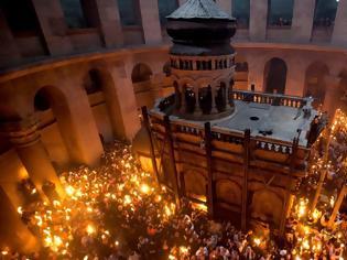Φωτογραφία για «Λουκέτο» στον Πανάγιο Τάφο ύστερα από 671 χρόνια