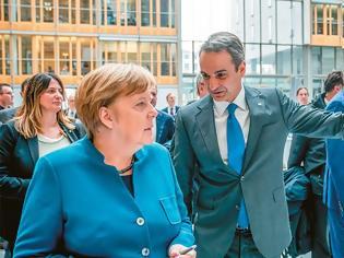 Φωτογραφία για Μητσοτάκης σε Μακρόν και Μέρκελ: Τι ζητάμε για τη συμφωνία ΕΕ- Ερντογάν
