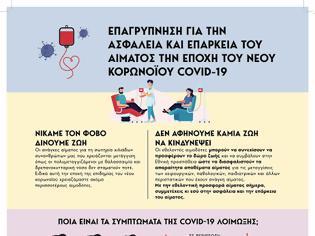 Φωτογραφία για Δράσεις του ΕΟΔΥ για τη διασφάλιση επάρκειας στα αποθέματα αίματος