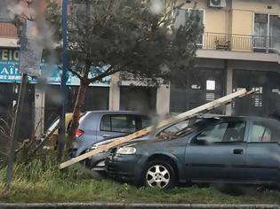 Φωτογραφία για Κακοκαιρία Ξάνθη: Θυελλώδεις άνεμοι και ισχυρή βροχή προκάλεσαν μεγάλες ζημιές