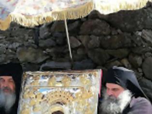 Φωτογραφία για 13449 - Φωτογραφίες από την λιτανεία της εφέστιας εικόνας Άξιόν Εστι στην πρωτεύουσα του Αγίου Όρους