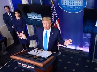 Φωτογραφία για ΗΠΑ: Σχεδόν 2.000 θάνατοι σε 24 ώρες - Οι... μπερδεμένες απειλές Τραμπ προς τον ΠΟΥ