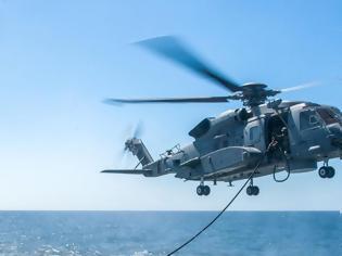 Φωτογραφία για Ελικόπτερο του ΝΑΤΟ κατέπεσε ανοιχτά της Κεφαλονιάς
