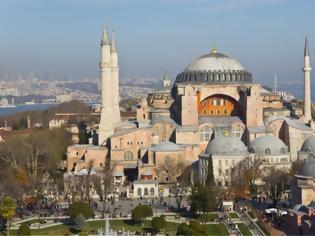 Φωτογραφία για Τουρκία: Μουσουλμάνοι ζητούν να προσευχηθούν στην Αγία Σοφία για να εξευμενιστεί ο ιός
