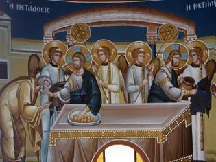 Φωτογραφία για Στην Θεία Κοινωνία δεν χρησιμοποιούμε κουταλάκι αλλά «Αγία Λαβίδα», δεν χρησιμοποιούμε ποτήρι αλλά «Άγιο Ποτήριο». Αυτό είναι που κάνει τη διαφορά!