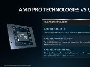 Φωτογραφία για Νέα γενιά Ryzen 4000 PRO για laptops από την AMD
