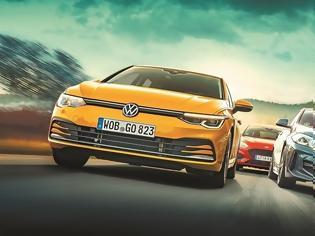 Φωτογραφία για BMW 118i Vs Ford Focus 1.5 EcoBoost Vs VW Golf 1.5 TSI