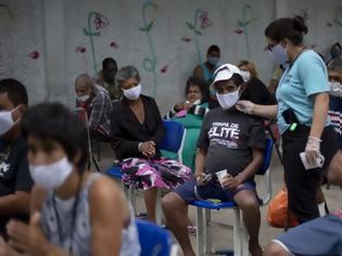 Φωτογραφία για Βραζιλία ξεπέρασε σε κρούσματα την Ιταλία και την Ισπανία