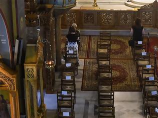 Φωτογραφία για Ανοίγουν οι εκκλησίες με αποστάσεις, αντισηπτικά και διπλές λειτουργίες