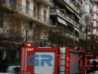 Φωτογραφία για Μπαράζ εμπρησμών τα ξημερώματα στη δυτική Θεσσαλονίκη