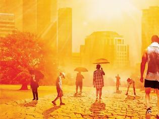 Φωτογραφία για 3 δις ανθρώπων θα ζουν υπό αφόρητη ζέστη μέχρι το 2070