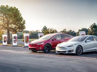 Φωτογραφία για Ελλάδα: Πού θα βάλει η Tesla τους φορτιστές της;