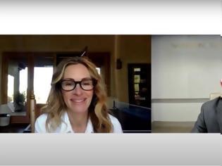 Φωτογραφία για ΗΠΑ: Ο Φάουτσι έδωσε συνέντευξη στην Τζούλια Ρόμπερτς