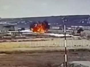 Φωτογραφία για Ρωσία: Σοκάρει το βίντεο με τη συντριβή ρωσικού ελικοπτέρου