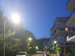 Φωτογραφία για Δήμος Αγρινίου: Σε πλήρη αποκατάσταση του δικτύου ηλεκτροφωτισμού της οδού Δυρού.