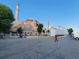 Φωτογραφία για Στο επίκεντρο των προκλήσεων Ερντογάν η Αγία Σοφία
