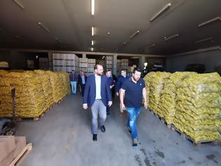 Φωτογραφία για Επίσκεψη του Περιφερειάρχη, Ν. Φαρμάκη, σε παραγωγικές μονάδες τυποποίησης αγροτικών προϊόντων