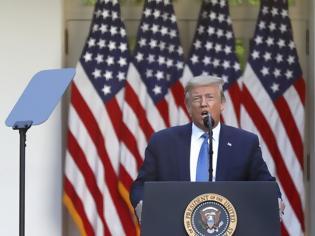 Φωτογραφία για Τραμπ: Βγάζει τον στρατό στην Ουάσινγκτον - «Τρομοκράτες»